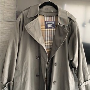 Burberry grey coat